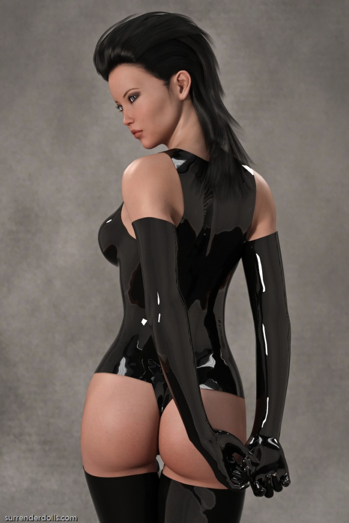 Iray Black Latex 01