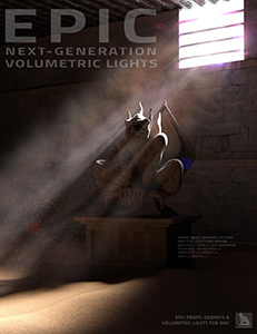 Epic Props: Godrays & Volumetric Light for Iray